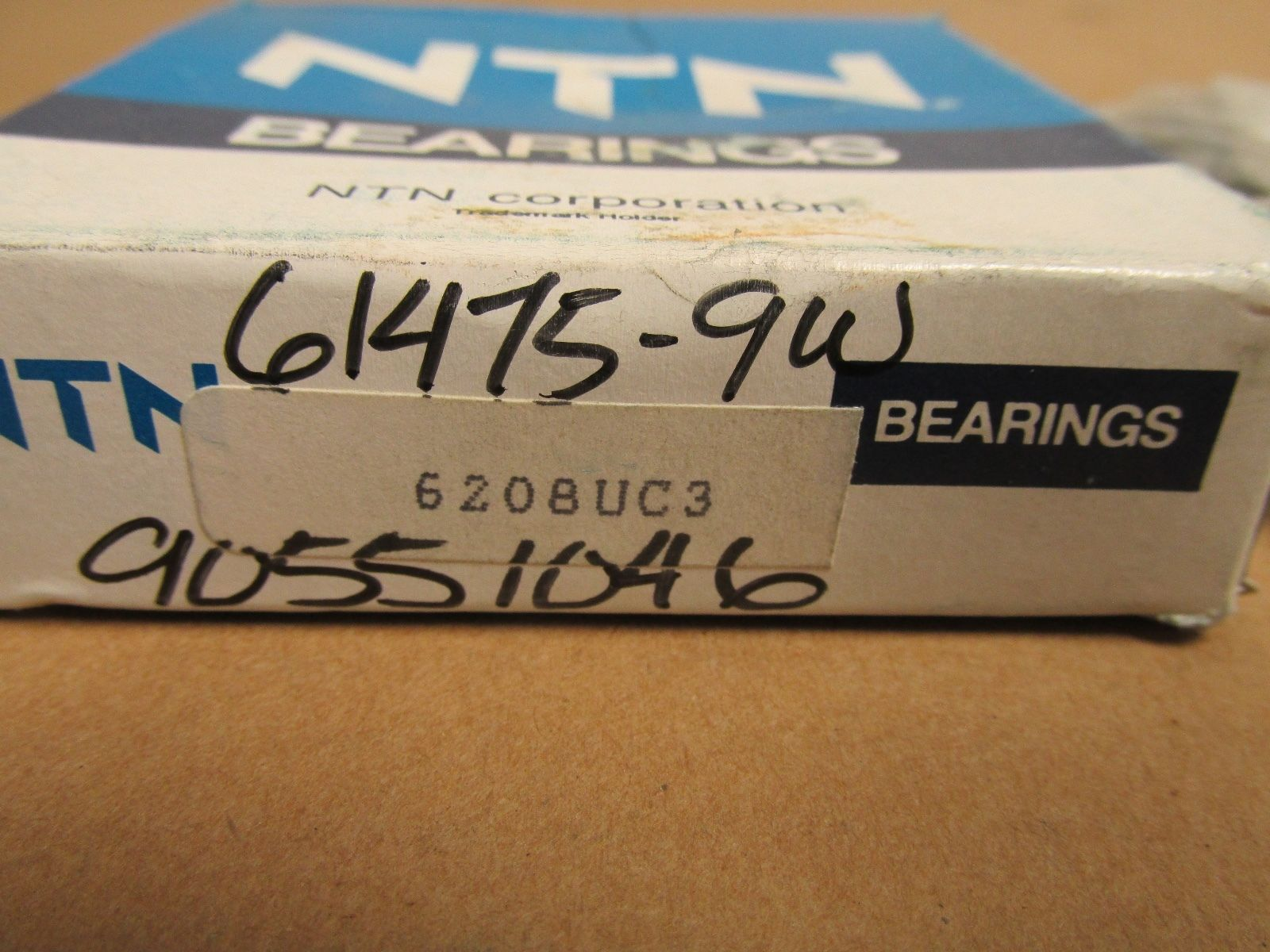 high temperature NIB NTN 6208UC3 BALL BEARING NO SHIELDS 6208C3 6208 C3 UC3 40x80x18 mm