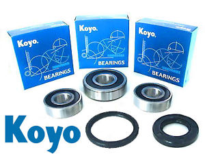 high temperature Yamaha WR 250 ZJ (2T) (4XK1) 1997 Koyo Front Left Wheel Bearing