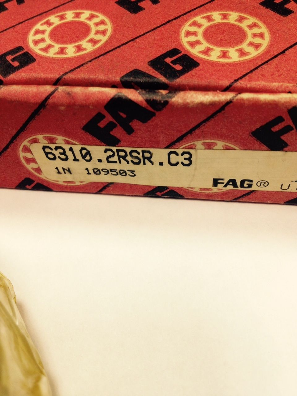 high temperature FAG 6310.2RSR.C3, Deep Groove Ball Bearing, Made-In-The-USA, 50mm Bore