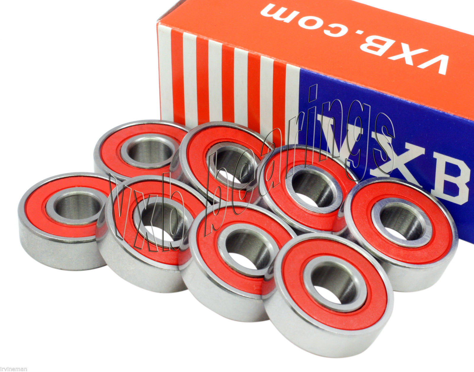 high temperature Set (8) Skateboard/Long board/Longboard Ceramic Bearing