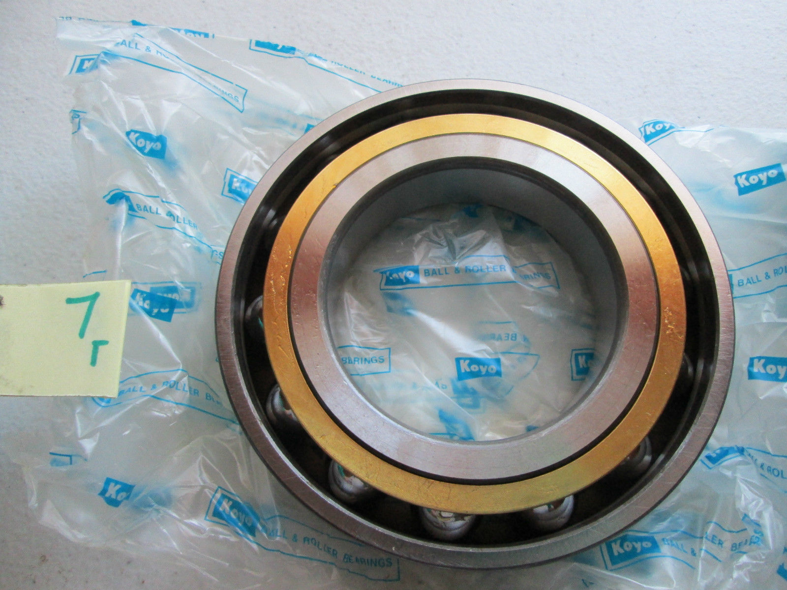 high temperature  IN BOX KOYO ANGULAR CONTACT BALL BEARING 7214BGC3 FY (Y4)