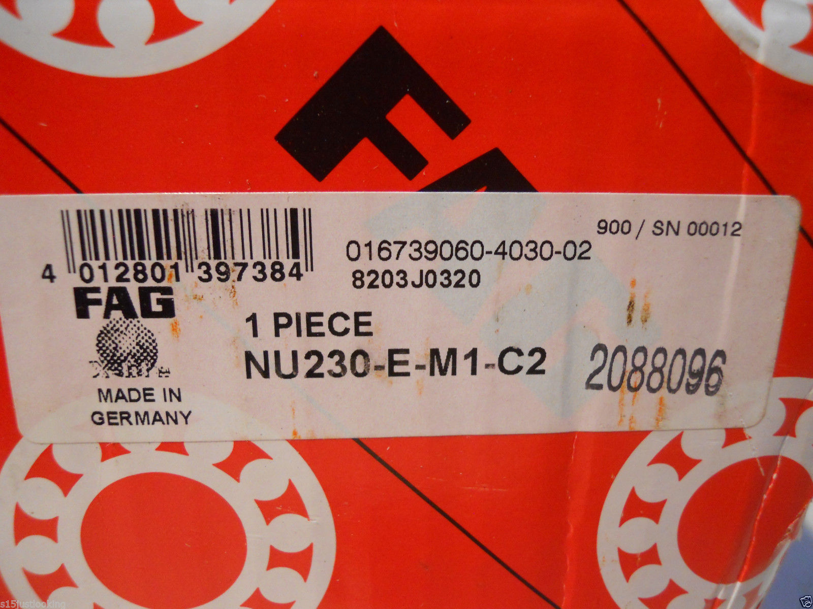 high temperature FAG NU230E.M1.C2 SINGLE ROW 150mm CYLINDRICAL ROLLER BEARING