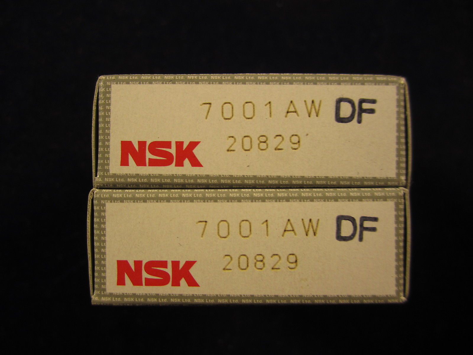 high temperature NSK Bearing 7001AW+DF (pair)