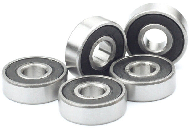 "high temperature 10pcs R6-2RS Miniature Bearings Rubber Sealed Ball Bearing 3/8"" x 7/8"" x 9/32"""