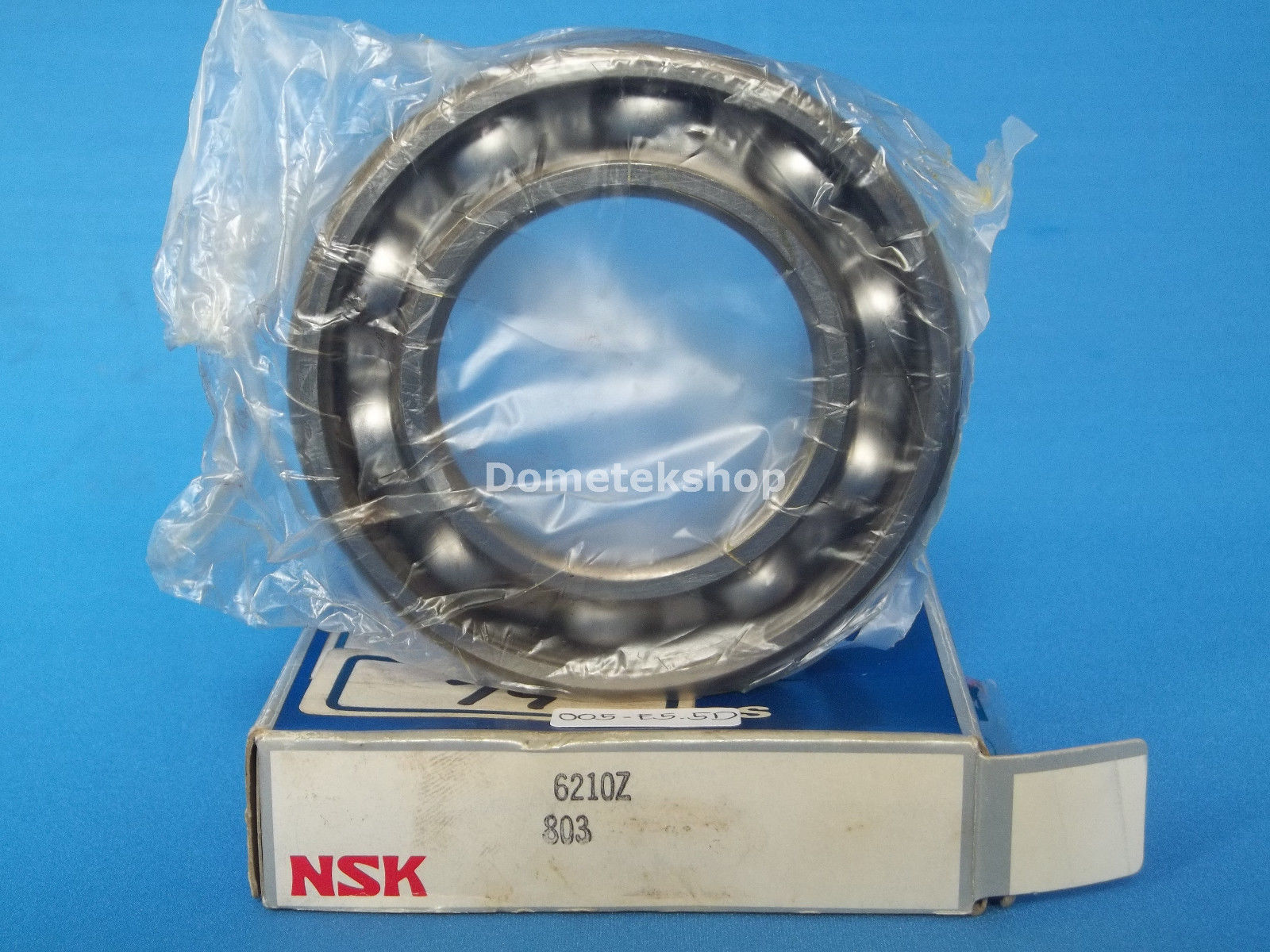 high temperature NSK 6210Z Deep groove ball bearing (New)