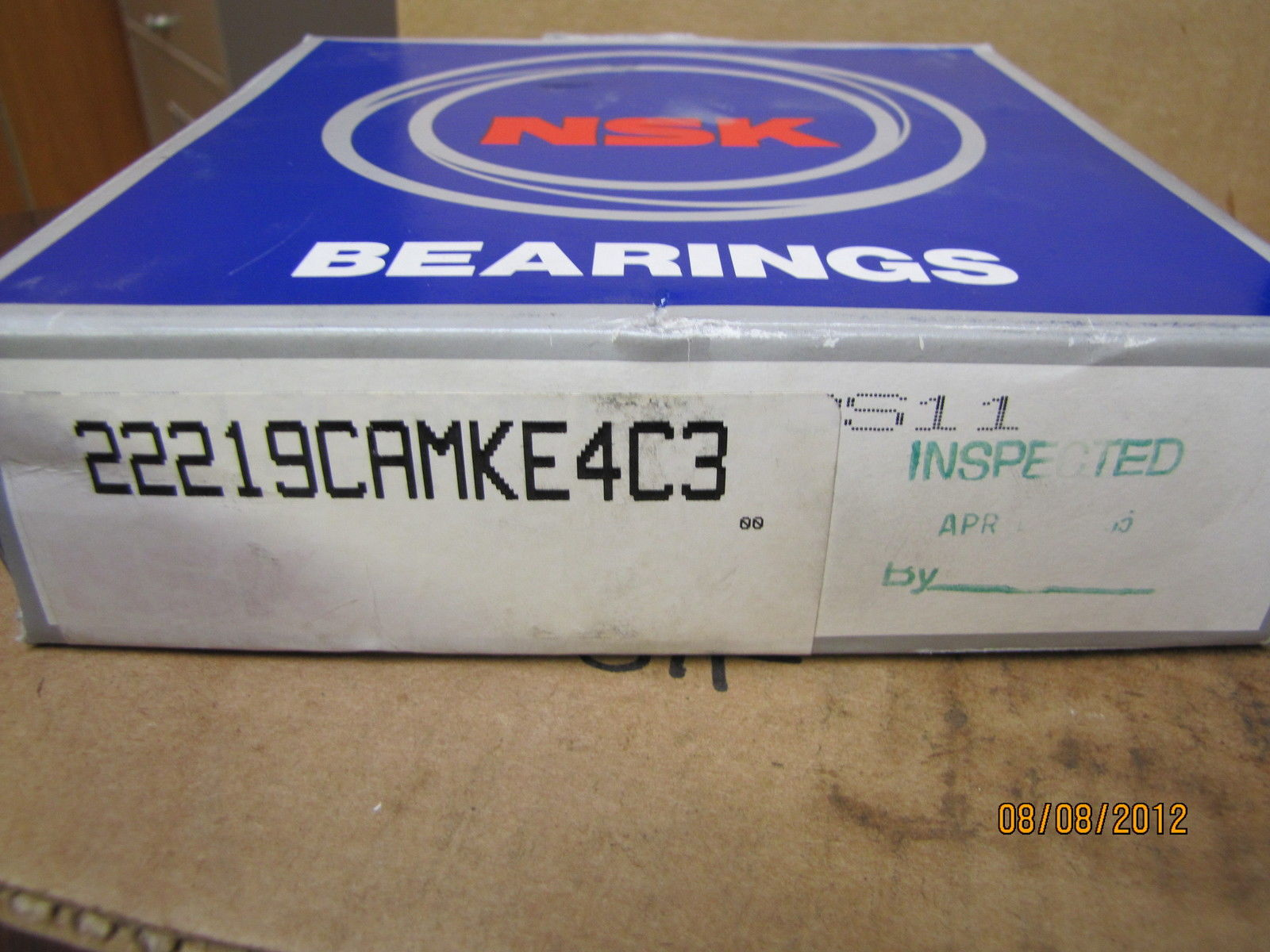 high temperature NSK Self Aligning Ball Bearing 22219CAMKE4C3S11 22219CAKS11 22219E4C3S11 New
