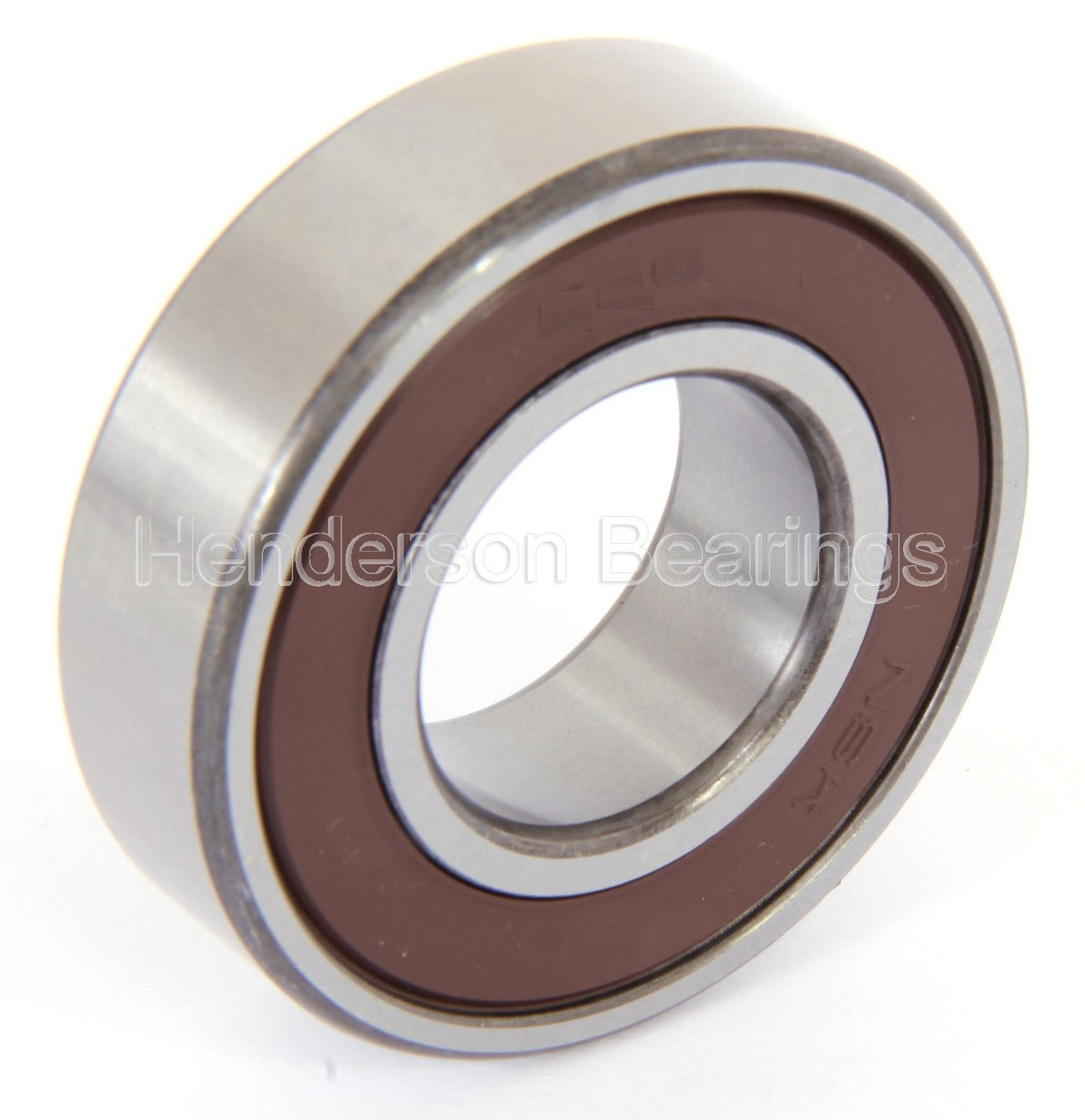 high temperature 6303-2RSC3 aka 6303DDUC3 NSK Deep Groove Ball Bearing Sealed 17x47x14mm