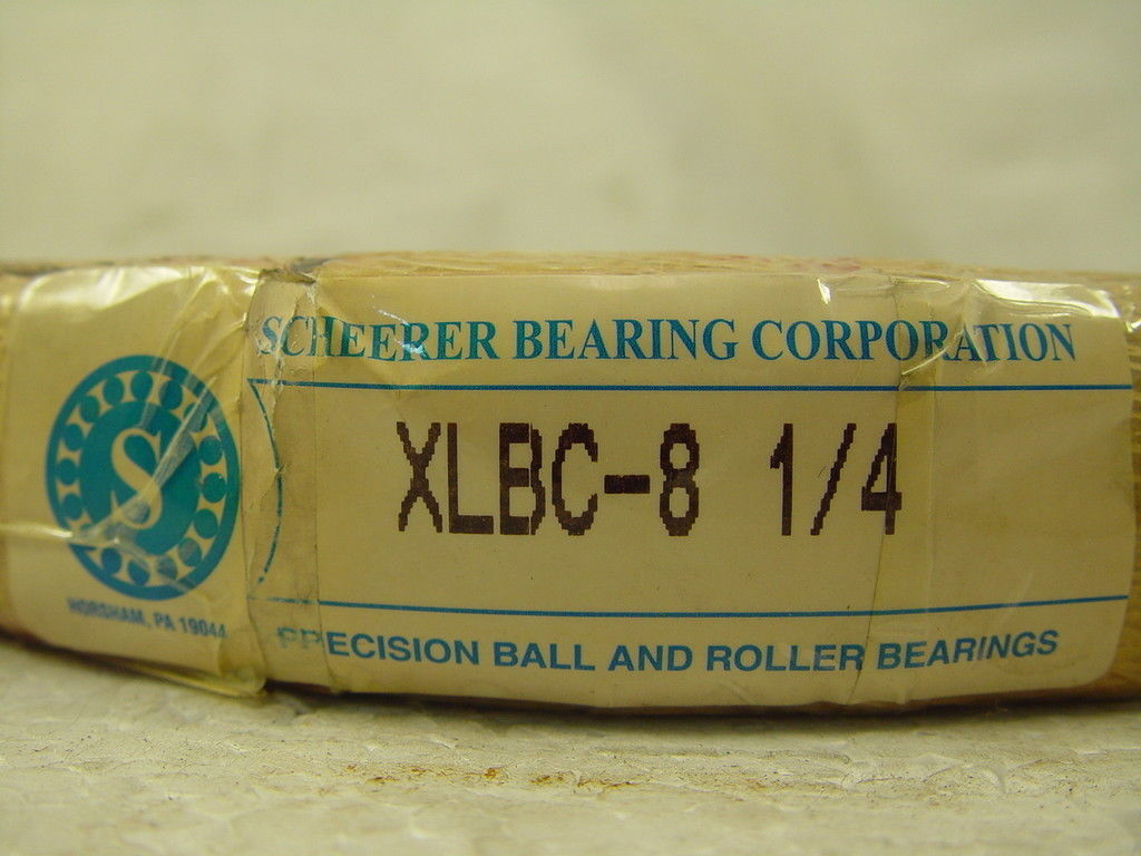 high temperature Scheerer XLBC-8 1/4  Radial Ball Bearing Fag SKF NSK INA STEYR