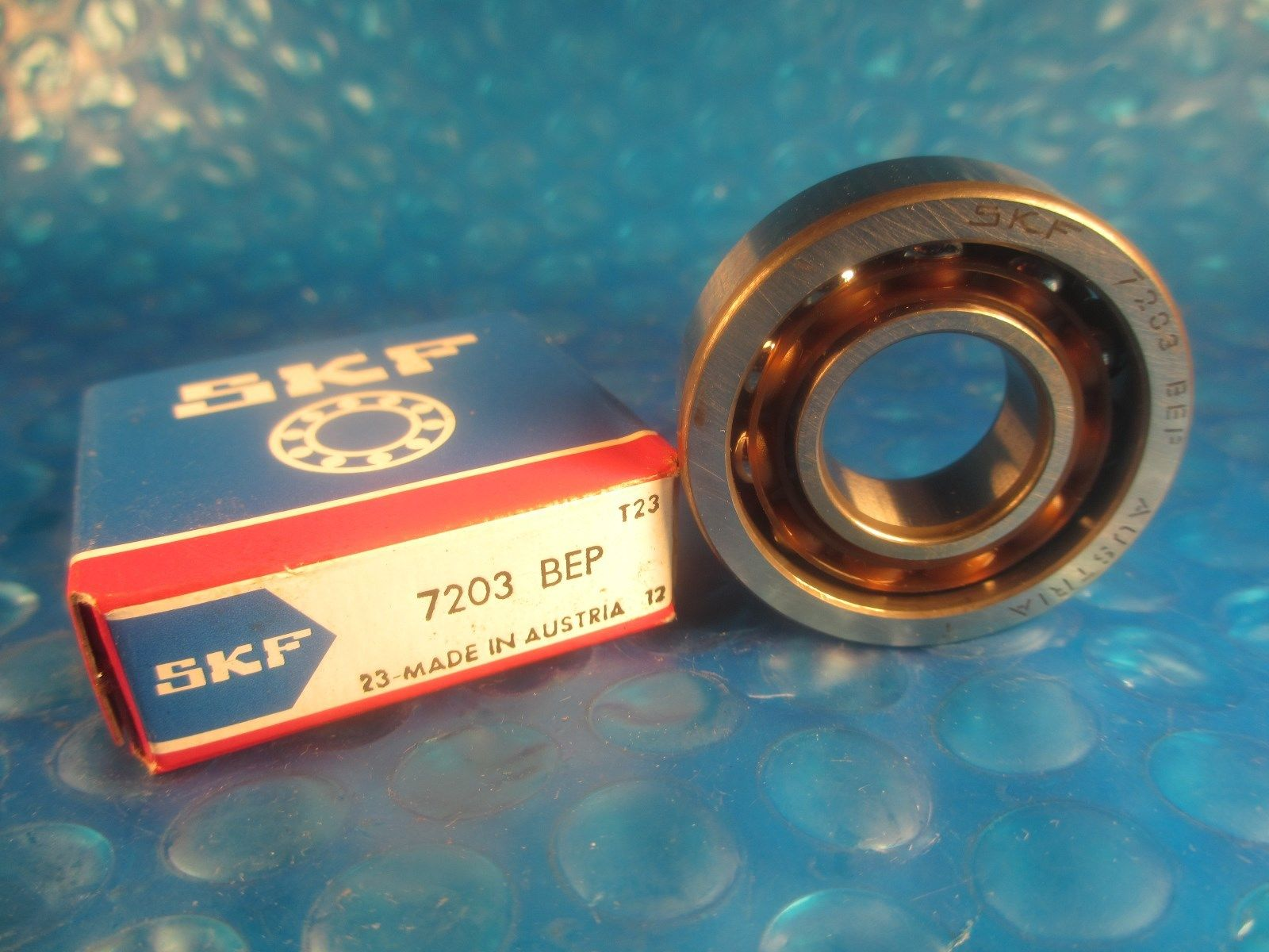 high temperature SKF 7203BEP, 7203 BEP, Angular Contact Ball Bearing