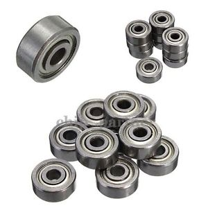 high temperature 50pcs 2x5x2.5mm Miniature Model Bearing MR52ZZ Ball Mini Bearing MR52 2Z