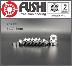 high temperature 606ZZ ABEC-5 (10PCS) 6x17x6mm 606Z Miniature Ball Bearings