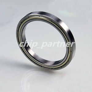 high temperature 35x47x7mm 6807zz Shielded Deep Groove Ball Thin-Section Radial Bearing