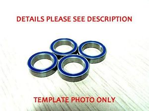 high temperature 4PCS 20×32 x7mm Blue Rubber Seals Ball Bearings ABEC-3 6804 2RS  61804 2RS