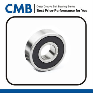 high temperature 6009-2RS Rubber Sealed Deep Groove Ball Bearing 6009 2rs 45x75x16mm