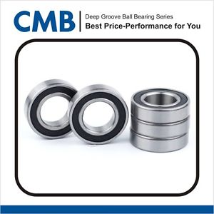 high temperature 5PCS 6004-2RS C3 Deep Groove Rubber Sealed Ball Bearing 20x42x12mm New