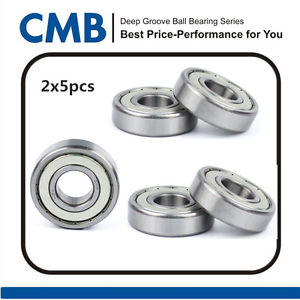 high temperature 10PCS 6904-ZZ 6904ZZ 6904-2Z Deep Groove Metal Shielded Ball Bearing 20x37x9mm