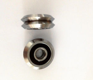 high temperature 16pc  RM2-2RS 3/8'' 9.525*30.73*11.1mm V Groove Sealed Ball vgroove Bearing