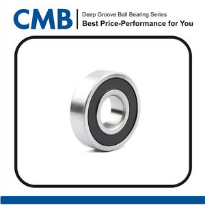 high temperature 6002-2RS C3 Deep Groove Rubber Sealed Ball Bearing 15mm x 32mm x 9mm Brand New