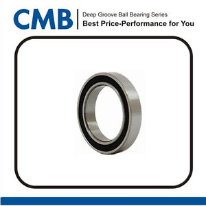 high temperature 1PCS 6810-2RS (50x65x7 mm) Rubber Sealed Ball Bearing 6810-2rs