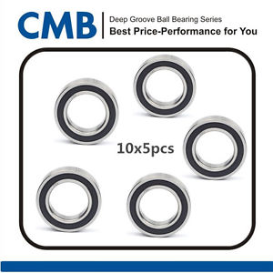 high temperature [50pcs] 6903-2RS 6903 2RS Rubber Sealed Ball Bearing Bearings 17x30x7 mm