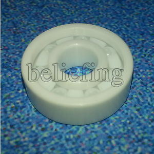 high temperature 2pcs 604 Full Ceramic Bearing ZrO2 Ball Bearing 4x12x4mm Zirconia Oxide