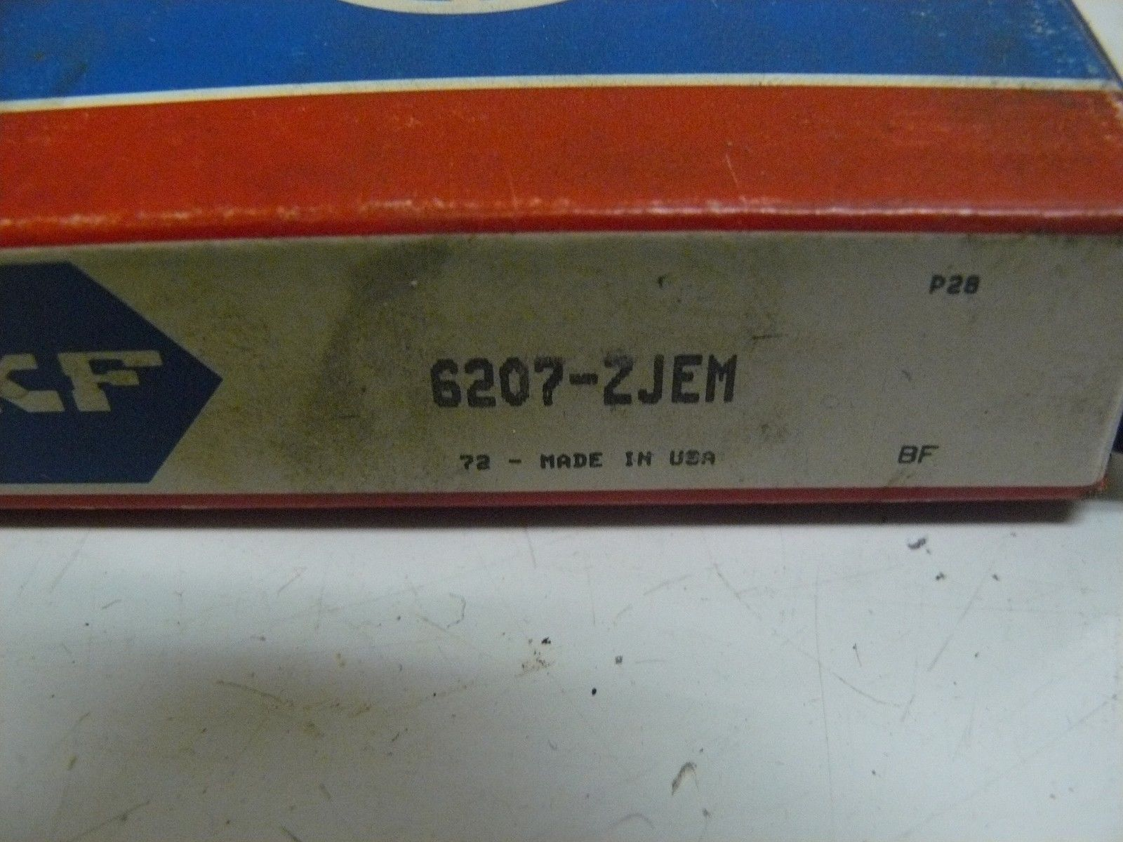 high temperature  SKF 6207-ZJEM BEARING BALL 35X72X17MM ONE SIDE SHIELDED