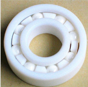 high temperature 6202 Full Ceramic Bearing ZrO2 Ball Bearing 15x35x11mm Zirconia Oxide
