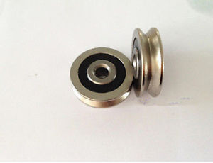 high temperature 10pcs 6mm 630VV 6*30*8 V Groove Sealed Ball Bearings 0.236'' vgroove bearing