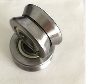 high temperature 5pcs LV202-38 V Groove 15*38*17mm Ball Track Roller Guide Vgroove Bearing