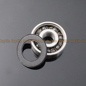 high temperature [4 pcs] 627-2RSc 7*22*7 Hybrid Ceramic Si3N4 Ball Bearing 7x22x7 mm