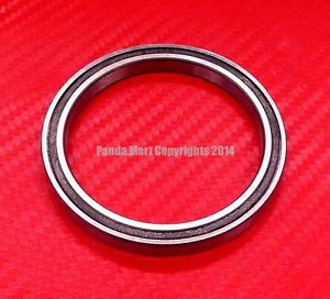 high temperature 10pcs 6707-2RS (35x44x5 mm) Black Rubber Sealed Ball Bearing Bearings 6707RS