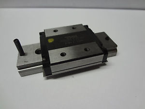 "high temperature THK RSR 12W linear ball bearing rail CNC slide guide 20mm 0.8"" stroke IKO NSK"
