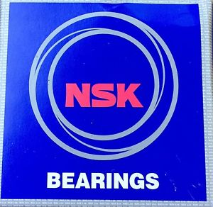 high temperature NSK DEEP GROOVE BALL BEARING  6204ZZNR NS7S Stainless Steel New (A1)