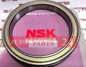 high temperature NSK 6819 ZZ Deep Groove Ball Bearing Narrow Series 2 metal Shields Made in Japan