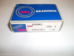high temperature NSK 608 DDU C3 ball bearing  8x22x7 (mm) SEALED–20 pieces