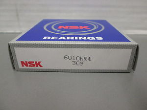 high temperature 6010NR NSK BALL BEARING