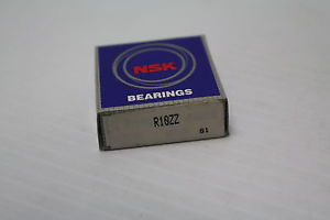 high temperature NSK R10ZZ Double Shielded Ball Bearing  New