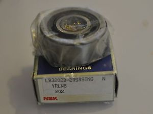 high temperature NSK  LB3202B-2RSRSTNG  Double Row Ball Bearing Germany Made