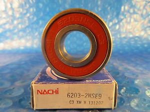high temperature Nachi 6203 2NSE9 Single Row Ball Bearing, C3,Japan (SKF, NSK, Fafnir 204PP, NTN)