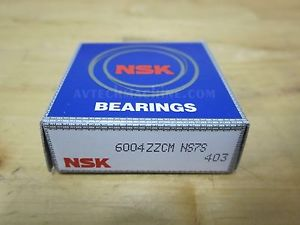 high temperature NSK BEARING DEEP GROOVE BALL BEARING  6004ZZ