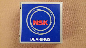 high temperature Lot of 6 NSK 6204ZZ Deep Groove Ball Bearings  in box FREE SHIPPING