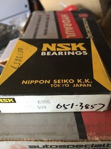 high temperature NSK 6306 Ball Bearing (New)