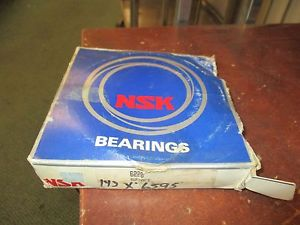 high temperature NSK Deep Groove Ball Bearing 6220 New Surplus