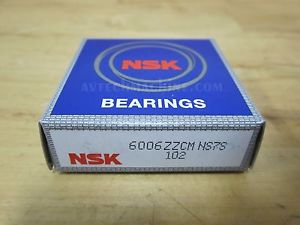 high temperature NSK BEARING DEEP GROOVE BALL BEARING  6006ZZ