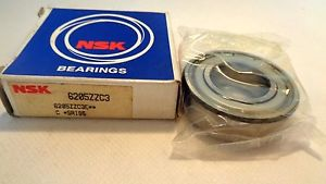 high temperature  IN BOX NSK  6205ZZC3 BALL BEARING