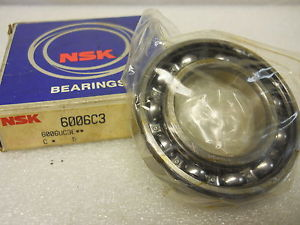 high temperature NSK 6006C3 DEEP GROOVE BALL BEARING 30 X 55 X 13MM  CONDITION IN BOX
