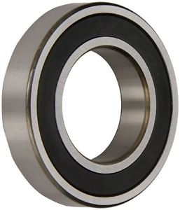 high temperature NSK 6204VV Deep Groove Ball Bearing, Single Row, Double Sealed, Non-Contact,