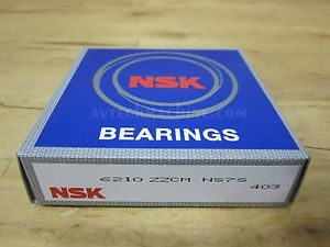 high temperature NSK BEARING DEEP GROOVE BALL BEARING  6210ZZ