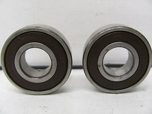 high temperature LOT OF 2 NSK DEEP GROOVE ROLLER BALL BEARINGS 6209DU USED