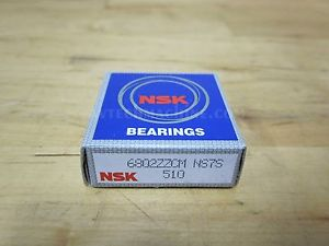 high temperature NSK BEARING DEEP GROOVE BALL BEARING  6802ZZ